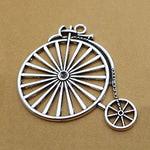 """Подвеска серебро """"Старинный велосипед"""""""
