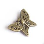 """Бусина металл бронза """"Бабочка"""""""
