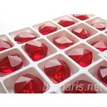 """Preciosa Граненные бусины """"Красное сердце"""" стекло"""