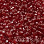 """Preciosa Граненные бусины """"Красные"""" стекло"""