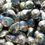 """Preciosa Бусины """"Серебряные капли"""" стекло"""
